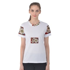 Fall Flowers No. 3 Women s Cotton Tees