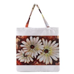 Fall Flowers No  3 Grocery Tote Bags