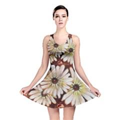 Fall Flowers No  3 Reversible Skater Dresses