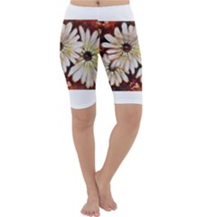 Fall Flowers No. 3 Cropped Leggings