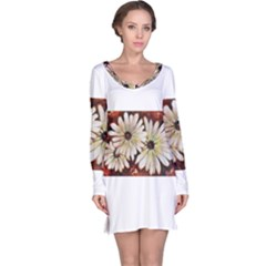 Fall Flowers No. 3 Long Sleeve Nightdresses