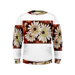 Fall Flowers No  3 Boys  Sweatshirts