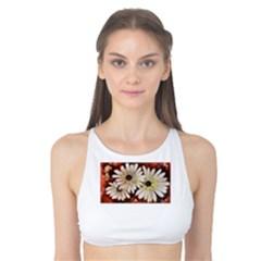Fall Flowers No. 3 Tank Bikini Top