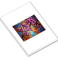 Fall Flowers No. 5 Large Memo Pads