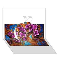 Fall Flowers No  5 Apple 3d Greeting Card (7x5)