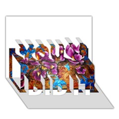 Fall Flowers No  5 You Did It 3d Greeting Card (7x5)