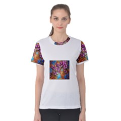 Fall Flowers No  5 Women s Cotton Tees