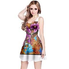 Fall Flowers No. 5 Reversible Sleeveless Dresses