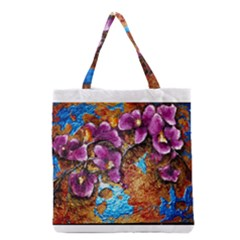 Fall Flowers No. 5 Grocery Tote Bags