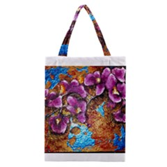 Fall Flowers No  5 Classic Tote Bags