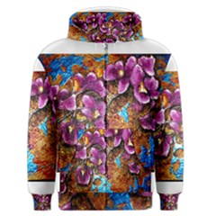 Fall Flowers No  5 Men s Zipper Hoodies