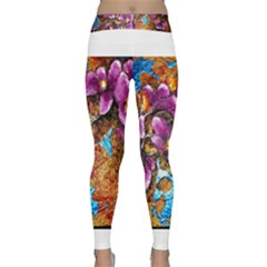Fall Flowers No  5 Yoga Leggings