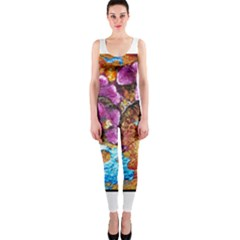 Fall Flowers No  5 Onepiece Catsuits