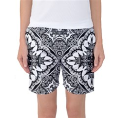 Doodlecross By Kirstenstar D70i5s5 Women s Basketball Shorts
