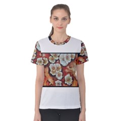 Fall Flowers No. 6 Women s Cotton Tees