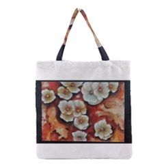 Fall Flowers No  6 Grocery Tote Bags