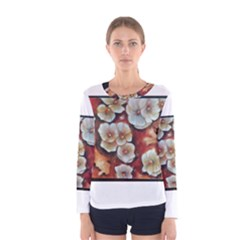 Fall Flowers No. 6 Women s Long Sleeve T-shirts