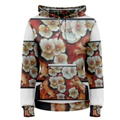 Fall Flowers No  6 Women s Pullover Hoodies