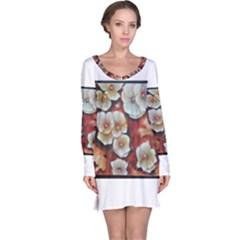 Fall Flowers No. 6 Long Sleeve Nightdresses