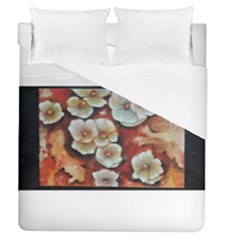 Fall Flowers No  6 Duvet Cover Single Side (full/queen Size)
