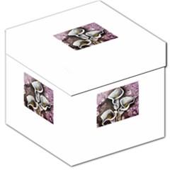 Gala Lilies Storage Stool 12