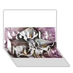 Gala Lilies You Are Invited 3d Greeting Card (7x5)
