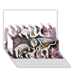 Gala Lilies You Rock 3d Greeting Card (7x5)