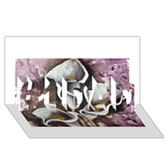 Gala Lilies #1 DAD 3D Greeting Card (8x4)