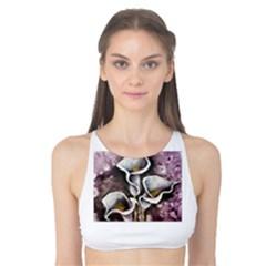 Gala Lilies Tank Bikini Top