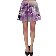 Shades of Purple Skater Skirts