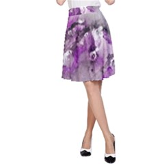 Shades Of Purple A Line Skirts