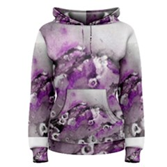 Shades Of Purple Women s Pullover Hoodies