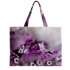 Shades of Purple Zipper Tiny Tote Bags