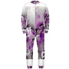 Shades Of Purple Onepiece Jumpsuit (men)