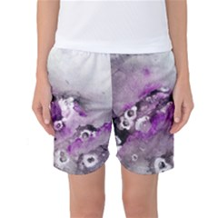 Shades Of Purple Women s Basketball Shorts