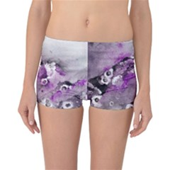 Shades Of Purple Reversible Boyleg Bikini Bottoms