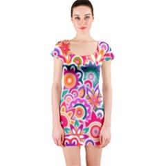 Eden s Garden Short Sleeve Bodycon Dresses