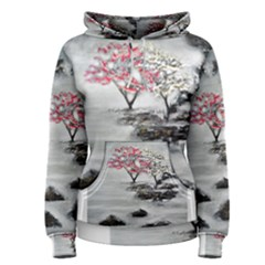 Mountains, Trees And Fog Women s Pullover Hoodies