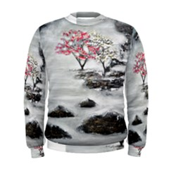 Mountains, Trees and Fog Men s Sweatshirts