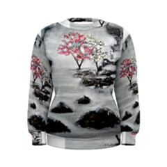 Mountains, Trees And Fog Women s Sweatshirts