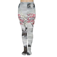 Mountains, Trees and Fog Women s Tights