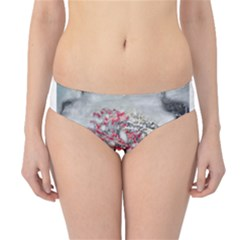 Mountains, Trees and Fog Hipster Bikini Bottoms