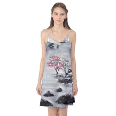 Mountains, Trees and Fog Camis Nightgown