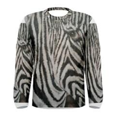 Unique Zebra Design Men s Long Sleeve T-shirts