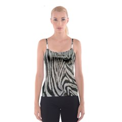Unique Zebra Design Spaghetti Strap Tops