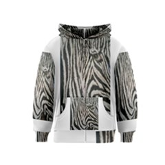 Unique Zebra Design Kids Zipper Hoodies