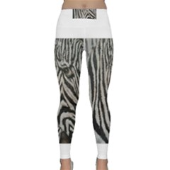 Unique Zebra Design Yoga Leggings