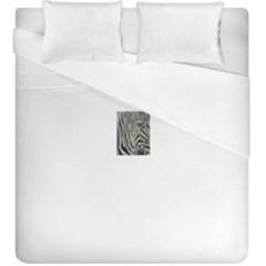 Unique Zebra Design Duvet Cover (king Size)