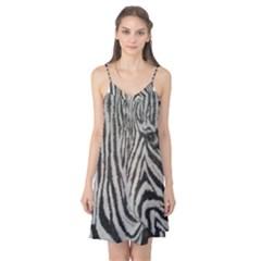 Unique Zebra Design Camis Nightgown