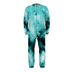 Turquoise Abstract OnePiece Jumpsuit (Kids)